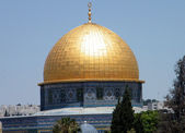 Jerusalem Dome of Rock Mosque 2010 — Stock Photo