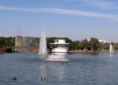Ramat Gan Park Pond 2008 — Stock Photo