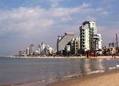 Tel Aviv plage 2007 — Stock Photo