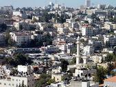 Jerusalem Houses and Minaret on the hillside 2010 — Stock Photo