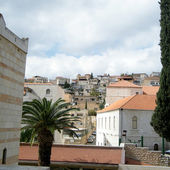 Nazareth view from Basilica 2010 — Stock Photo