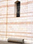 Nazareth Basilica Ancient Column 2010 — Stock Photo