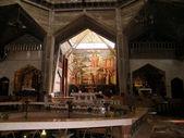 Nazareth Church of the Annunciation Interior 2010 — Foto de Stock