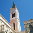 Jaffa Franciscan Church tower 2011 - Stock Photo