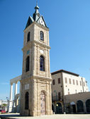 Jaffa Old Clock Tower 2011 — Stock Photo