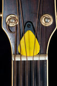 Guitar closeup — Stock Photo