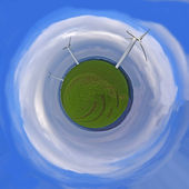 Wind energy — Stockfoto