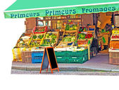 Shop in France — Foto Stock