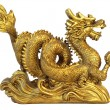 Stock Photo: Chinese dragon for happyness and luck