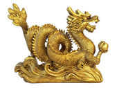 Chinese dragon for happyness and luck — Stock Photo