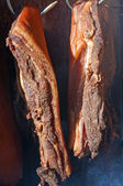 Curing meat — Stock Photo