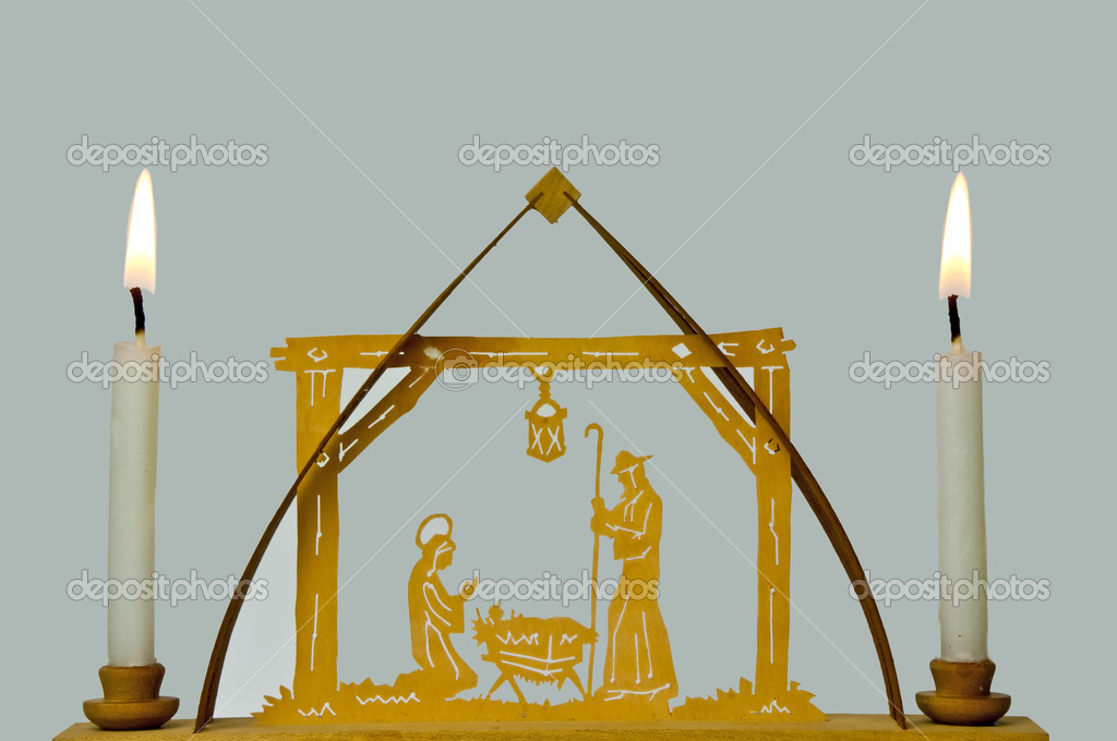 Nativity scene  Stock Photo #4407795