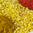 Dal, yellow lentils of India — Stock Photo