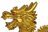 Chinese dragon for happiness and luck — Stock Photo