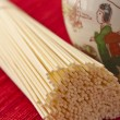 Japanese style noodles — Stock Photo