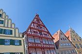 Dinkelsbuehl house facade — Stock Photo