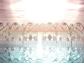 Himmlische tore — Stockfoto