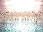 天のゲート — ストック写真