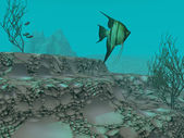 Underwater scen — Stockfoto