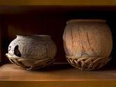 Ancient pottery of Ban Chiang — Stock Photo