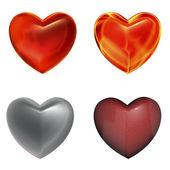 Herzen — Stockfoto
