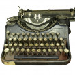 Stockfoto: Old typewriter