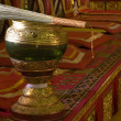 Monk's alms-bowl holy water — Stock Photo #4053367