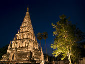 Wat Chedi Liam Chiang Mai Thailand — Stock Photo