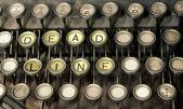 Oude schrijfmachine — Stockfoto