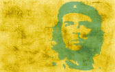 Wallpaper with Che — Stock Photo