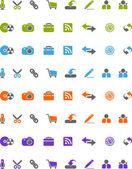 Icons — Stock Photo