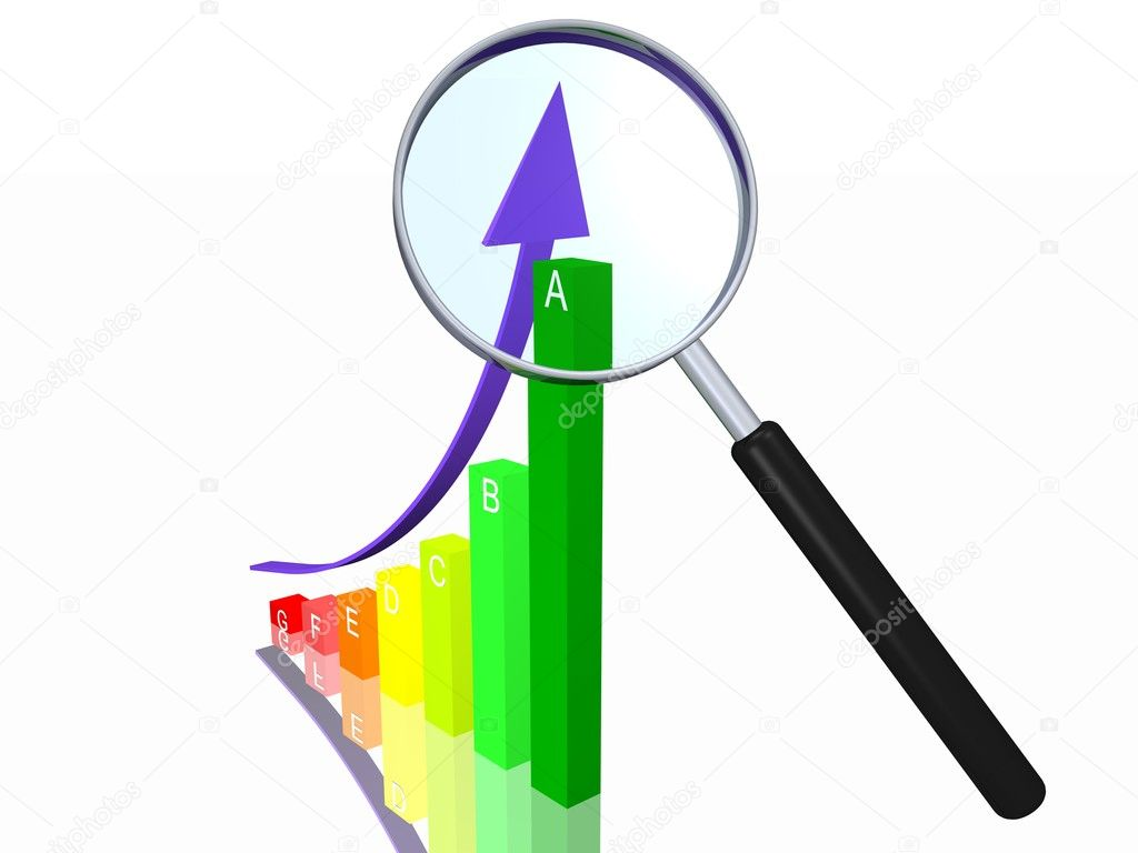 Energy Efficiency Chart  Stock Photo #4214535