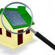 Solar Energy House — Stock Photo