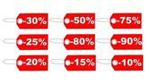 Price Tags — Stock Photo