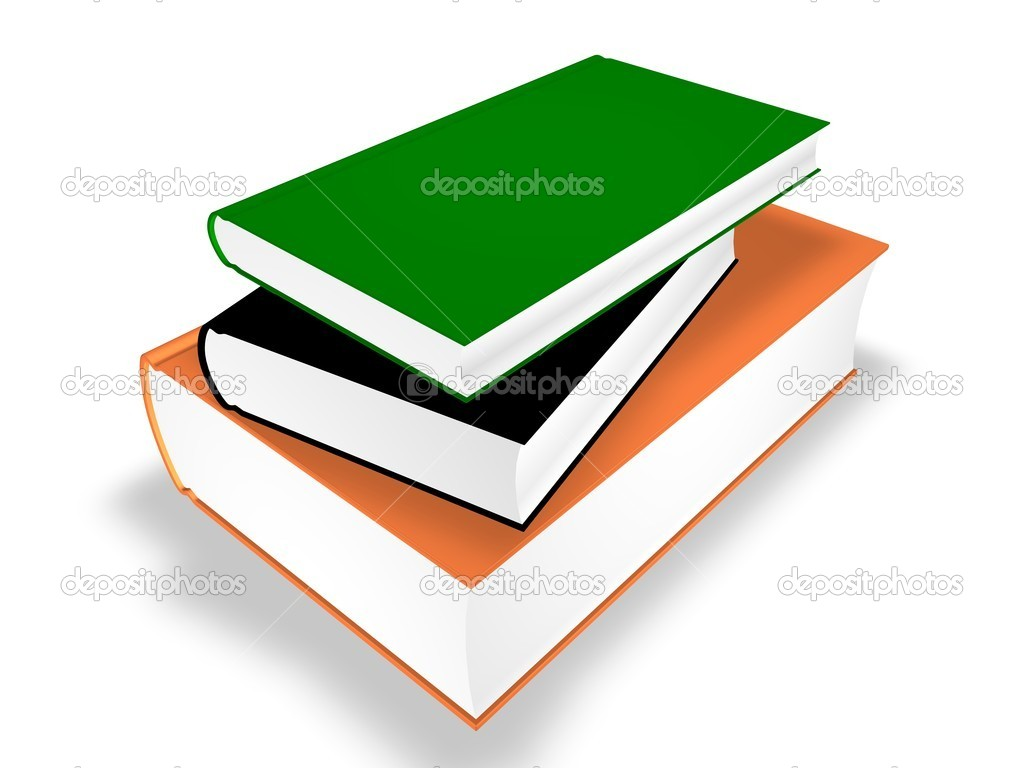 Stack of Books  — Stock Photo #4323690