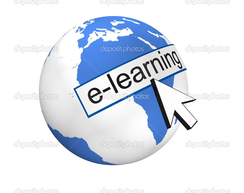 E-Learning Concept — Stock Photo #4346828