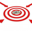 Stock Photo: Business Target