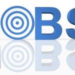 Internet Job Search — Stock Photo