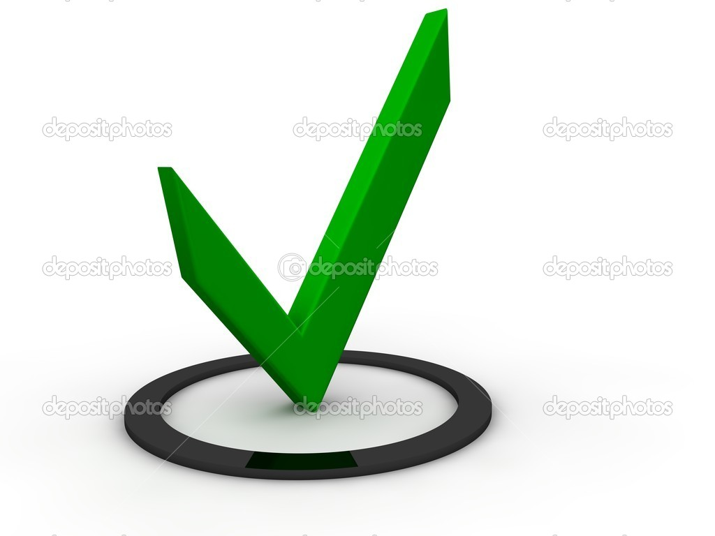 Check Mark  Stock Photo #4695626