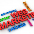 Web Marketing Concept  — Stok fotoğraf