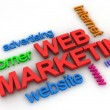 Web Marketing Concept — Stock Photo