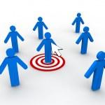 Web Marketing Concept — Stock Photo