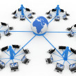 Global Computer Network — Stock Photo #5143013