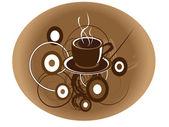Kaffeetasse — Stockvektor