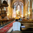 Pray in catholic church — Stockfoto #3951867