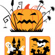 Stock Vector: Halloween collection