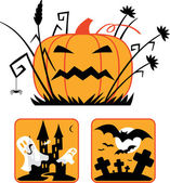 Halloween collection — Stock Vector