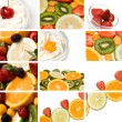 Stock Photo: Colorful fruit composition
