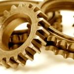Golden gears — Stock Photo #3965911