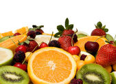 Beautiful fruit background — Stock Photo
